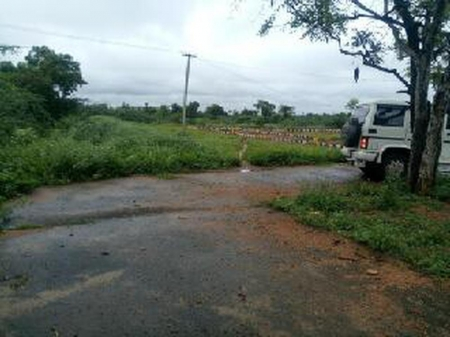 plots for sale in garden city at trichy to madurai  NH road