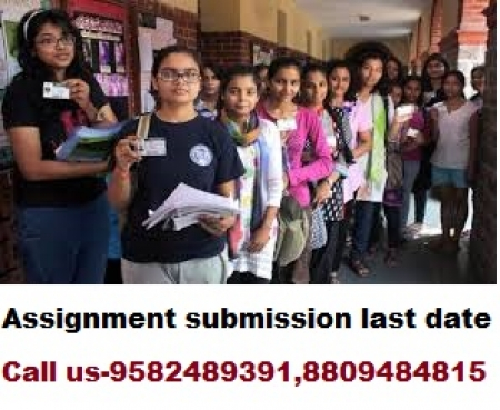 ignou online solved Assignment for December exam 2017-18