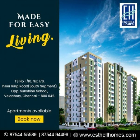 New Flats in Velachery