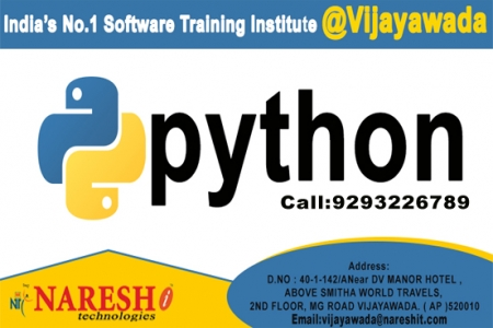 Best Python Training Institute In Vijayawada NareshIT
