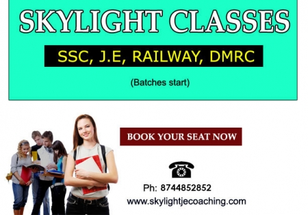 Ssc je coaching institute in delhi, Ssc je coaching in delhi, india