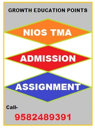 nios tutor marked assignment English 2018-19