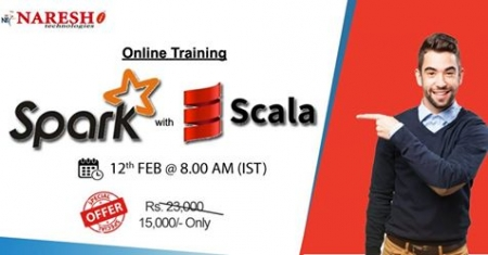 Best Spark with scala Online Training By Real Time Expert In USA -Naresh IT