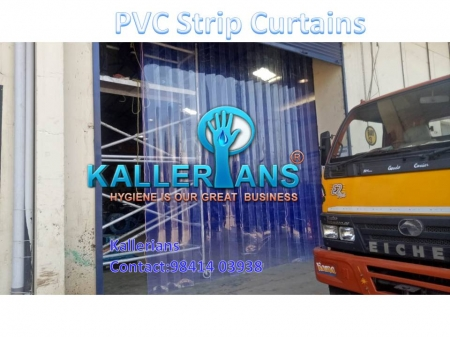 PVC Sheets, Warehouse PVC Strip Curtains, Polar PVC Strip Curtains, PVC Rolls Suppliers in chennai - kallerians