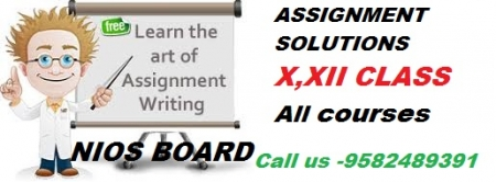 Online tutor marked assignment nios solved 2018-19 answers sheet@9582489391