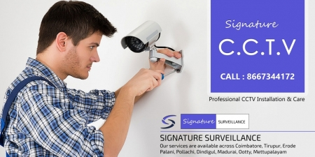 CCTV Dealers in Coimbatore - Signature Surveillance - Top CCTV Installation Service in Coimbatore