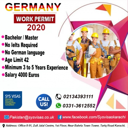 germany work permit 2020
